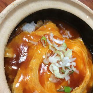天津飯(土鍋・大餃子 )