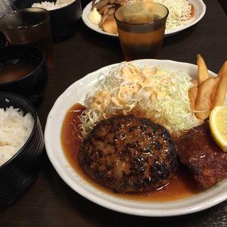 ハンバーグ&チキンステーキ(愉快酒場 船場センタービル3号館店 )