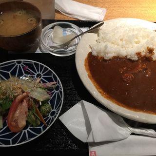 炭火焼チキン特製辛口カレー(北浜 やきとり うえ田 )