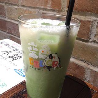 豆乳抹茶オーレ(空色COLOR (ソライロカラー))