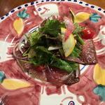 鰹のカルパッチョ サラダ仕立