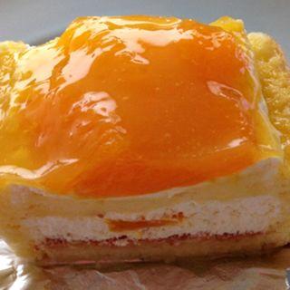オレンジのショートケーキ(キャトルセゾン)