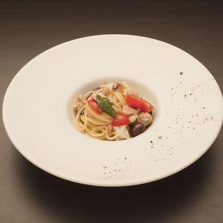 サーモンのパスタ(Cucina Italiana Inizio)