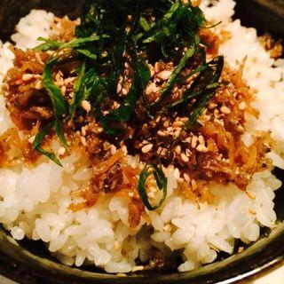 煮じゃこ飯(六ヶ城 (ろっかんじょう))