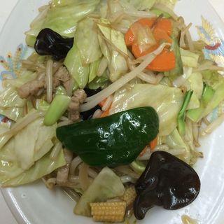 野菜炒め(珉珉 池田店 (みんみん))