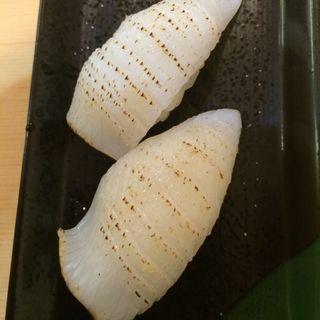 剣先いかあぶり(にぎり鮨 魚魚 (さかなさかな))