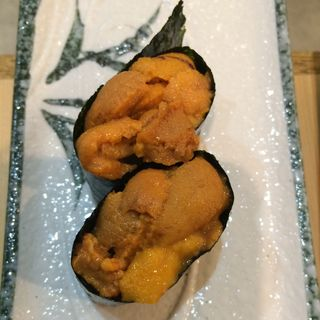 うに(にぎり鮨 魚魚 (さかなさかな))