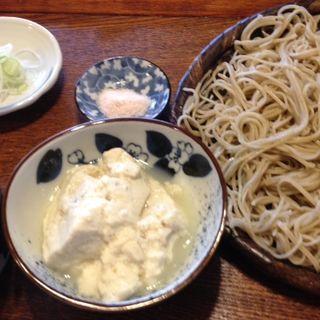 手作り豆腐とそば(蕎家 (キョウヤ))