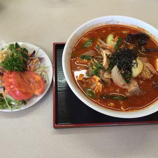 カルビクッパ(相川食堂)