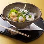 香り立つ京料理のコース