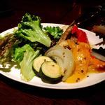 スペイン風焼き野菜 エスカリバーダ ロメスコソース