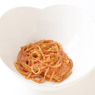 生うに入りトマトクリーム リングイーネ(Little Italian GINZA COCO)