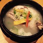 ハーフ参鶏湯セット