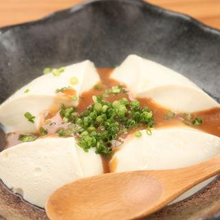 味噌とうふ(海鮮ウタリ)