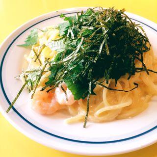 たらこクリームスパゲティ(関谷スパゲティ )