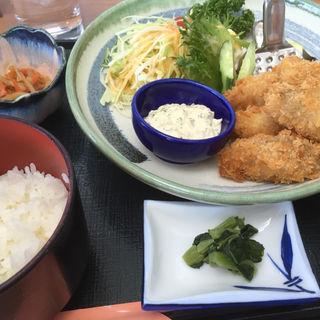 カキフライ定食(ロータリーゴルフ倶楽部 レストラン )