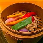 季節の有機野菜わっぱ蒸し(2つ)