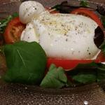 ルッコラとほうれん草のサラダ バルサミコ