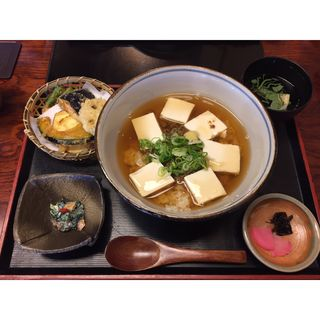 おとうふ丼(清水順正 おかべ家)