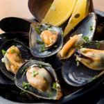 ムール貝の吟醸蒸し