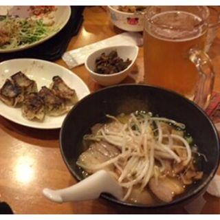 唐揚げ炒飯セット(菜単 )
