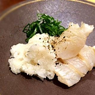 クエの炙り(鮨 まぜき )