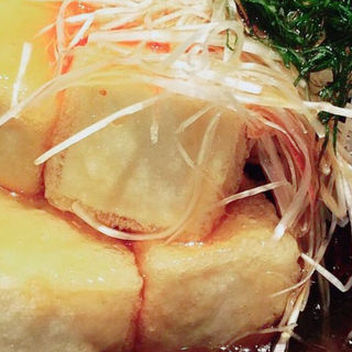 揚げ出し豆腐(酒彩蕎麦 初代)