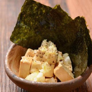 クリームチーズ醤油漬け(鳥光國 スーク海浜幕張店 )