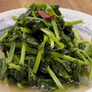 青菜炒め(回頭)