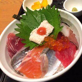 秋の味覚丼(堂島とろ家 阪急三番街店 (とろや))