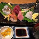 旬魚のお刺身定食(堂島とろ家 阪急三番街店 (とろや))
