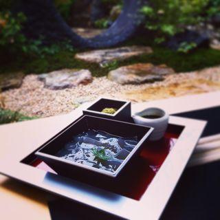わらび餅(普門庵 二の茶寮 )
