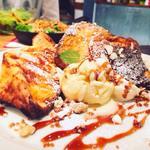カラメルプラリネのフレンチトースト