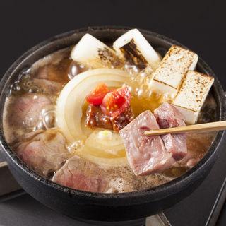 トマト味噌の牛なべコース(ビストロ割烹koda (コダ))