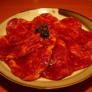 豚カルビ(韓国炭火焼肉 韓国料理 韓サラン 赤坂店)