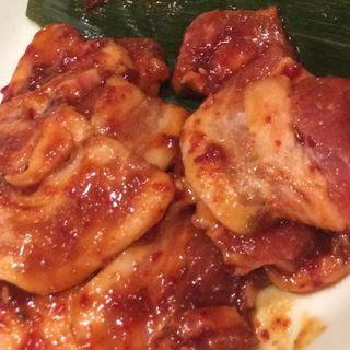 豚バラ 辛味噌(徳寿)
