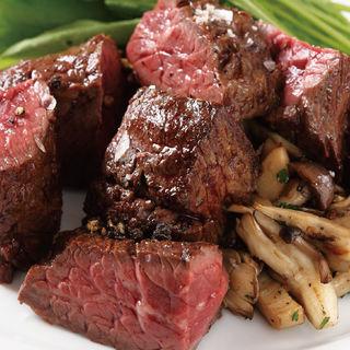 豪快な牛ハラミ肉のパペットステーキ(ラ カサリンガ (La Casalinga))