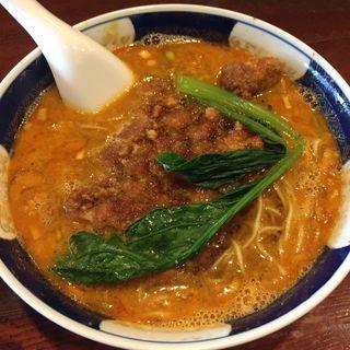 太肉担々麺(支那麺 はしご 入船店 (しなめんはしご))