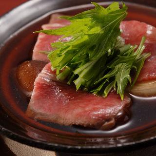 和牛のすき焼き(乃木坂 神谷 (かみや))