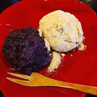 雑穀米の手づくりおはぎさん2こ(Cafe ヒペリカム )