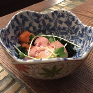 鮭の白子ポン酢(グリル異人館 )