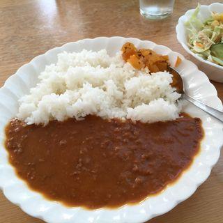 牛挽肉のキーマカレー(もろこし畑 )