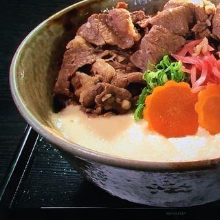 丹波篠山牛しぐれ丼(特産館ささやま 味の郷土館 )