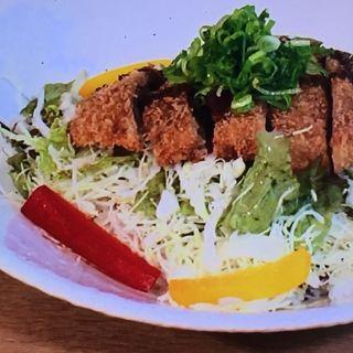 猪肉のミルフィーユ味噌カツ丼(レイクサイド )