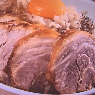 MAZEそば 肉増し(麺屋ガテン なんば心斎橋 総本店 )