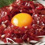 桜肉たたきユッケ