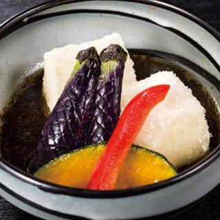 茄子と豆腐の揚げ出し(味斗 スーク海浜幕張店 )