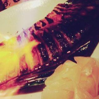 炙り〆鯖(汁べゑ 渋谷店 (シルベエ))