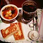 【ランチ】フレンチトーストセット(CAFE AALIYA (カフェ アリヤ))