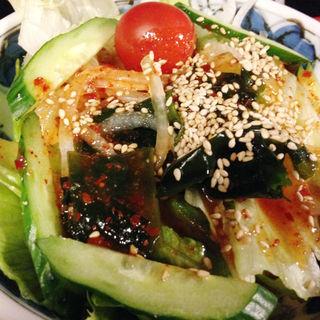 豆腐サラダ(柿天舎 )